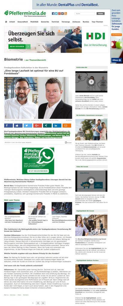 BU Invest, Carsten Hölzemann, Bernd Alex