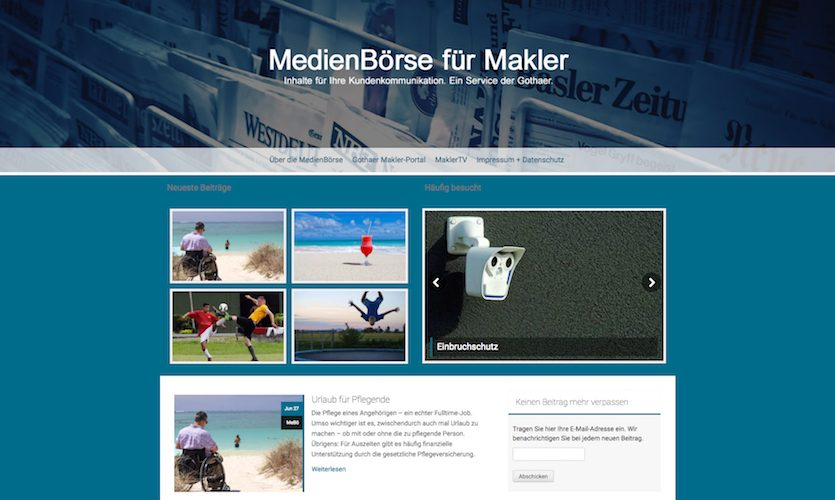 Makler Medienbörse