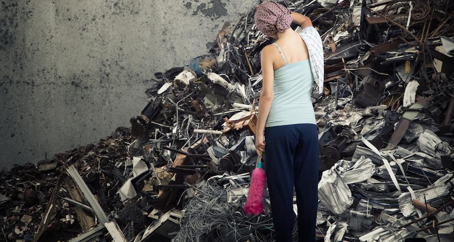 Beschmierte Wände, eingeschlagene Scheiben: Existenzrisiko Vandalismus