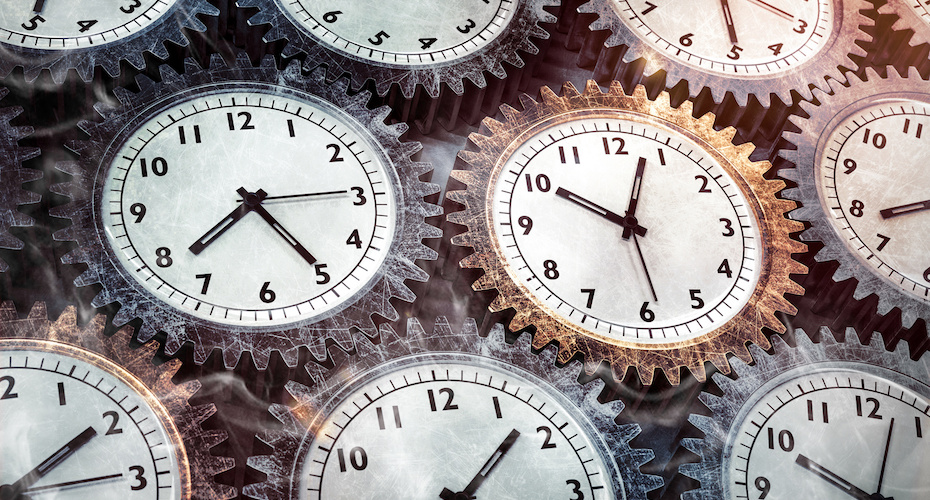 Ob im Stau oder auf der Fahrt: Zeit stirbt nicht