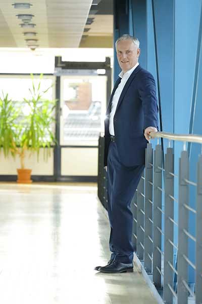 Ulrich Neumann, Leiter Partnervertriebe der Gothaer, die Gothaer engagiert sich aktiv als Förderer des Jungmakler Award