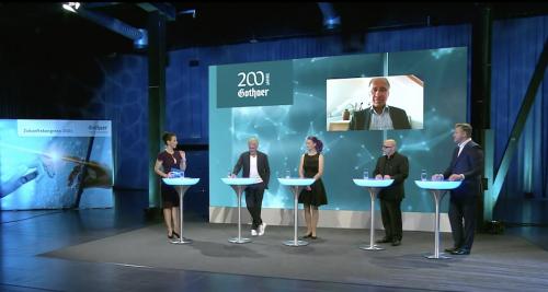 Die Expertenrunde in der Diskussion