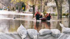 Hochwasser Schadensmeldung