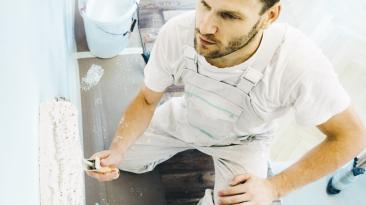 Absicherung wie gemalt: Zielgruppe Maler und Lackierer